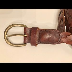 Abercrombie genuine leather belt